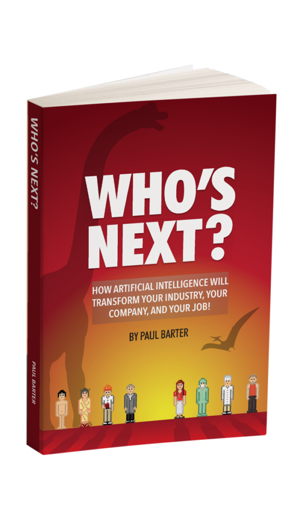 whos next book paul barter