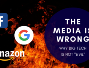 """The media is wrong. Big tech is not """"evil"""""""