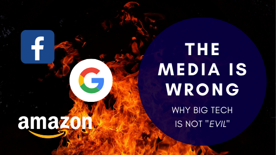 The media is wrong. Big tech is not